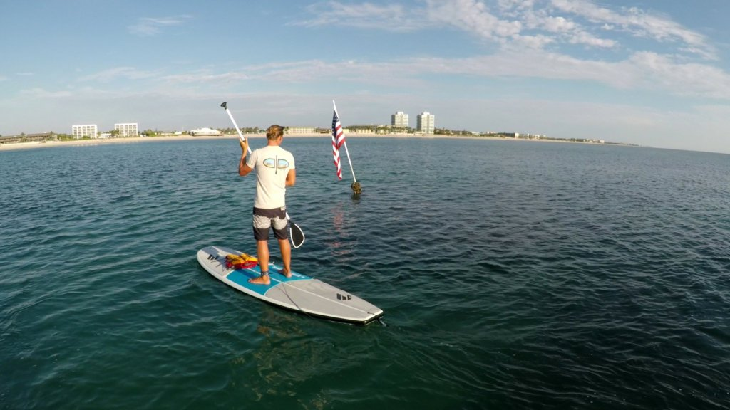 Paddle Board to the Boiler Wreck