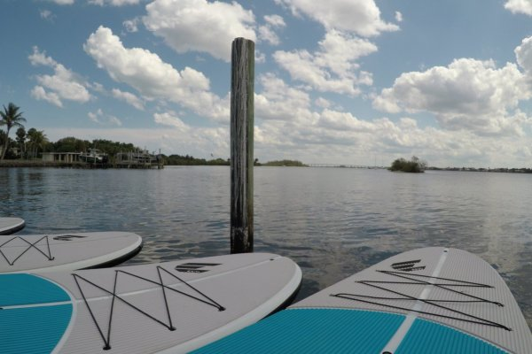 Paddle board rentals at the Indian River Lagoon in Vero Beach