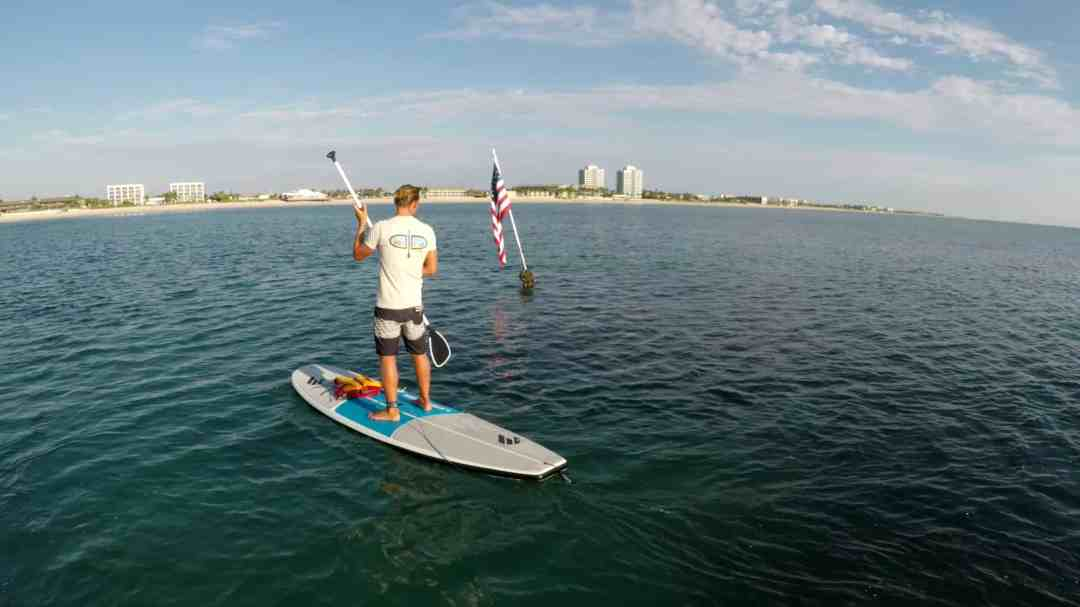 Paddle Board at the Beach
