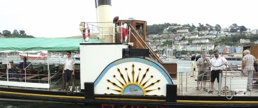 Paddle Steamer Kingswear Castle 2017 Timetable Published