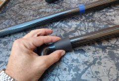 cortar un remo de paddle surf de carbono