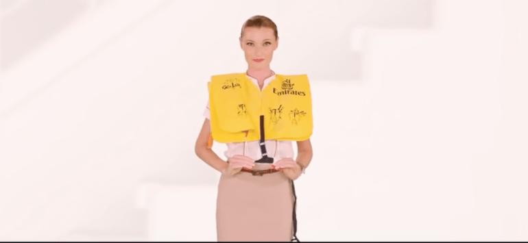 Emirates Tweaks Safety Video to Make Vitally Important Point
