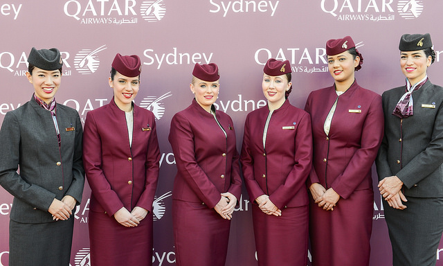 Qatar Airways have been criticised for the alleged ill treatment of female cabin crew. Photo Credit: Qatar Airways
