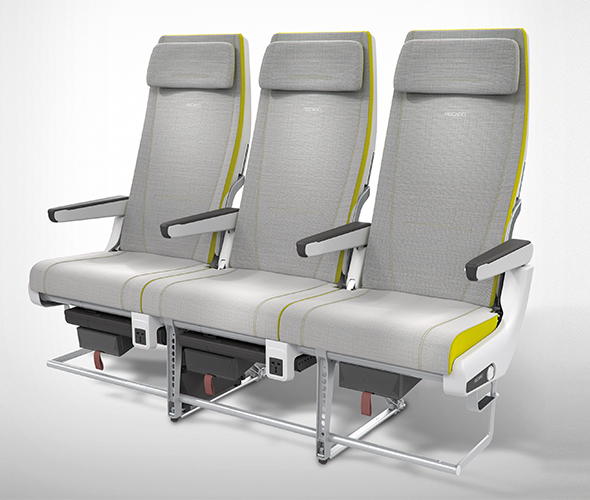 flydubai to Get Even Nicer Cabins (for a Low Cost Airline) on New 737 MAX Aircraft - The new Recaro CL3710 will be featued in the flydubai economy cabin
