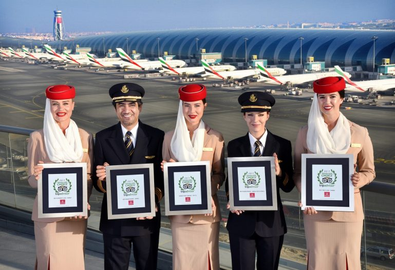 Emirates Isn't Being Entirely Honest with Its 'Fly the Friendly Skies' Pitch