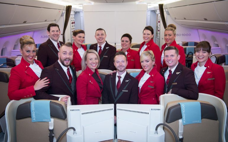 Virgin Atlantic Cabin Crew Embark On A 12-Hour Flight to Nowhere