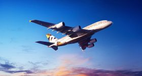 Etihad's Final 'Over the Top' Airbus A380 Superjumbo Joins Its Fleet