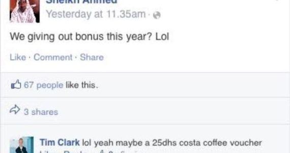 Emirates Staff brilliantly Troll Senior Managers in Parody Facebook Post