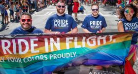 Pride In Flight: Big U.S. Airlines Show Support for LGBTQ Staff and Customers in June
