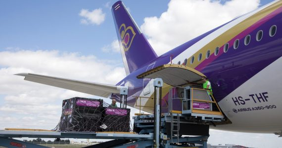 Airbus and Thai Airways Deliver Much Needed School Supplies to Conflict Ravaged Areas of Thailand