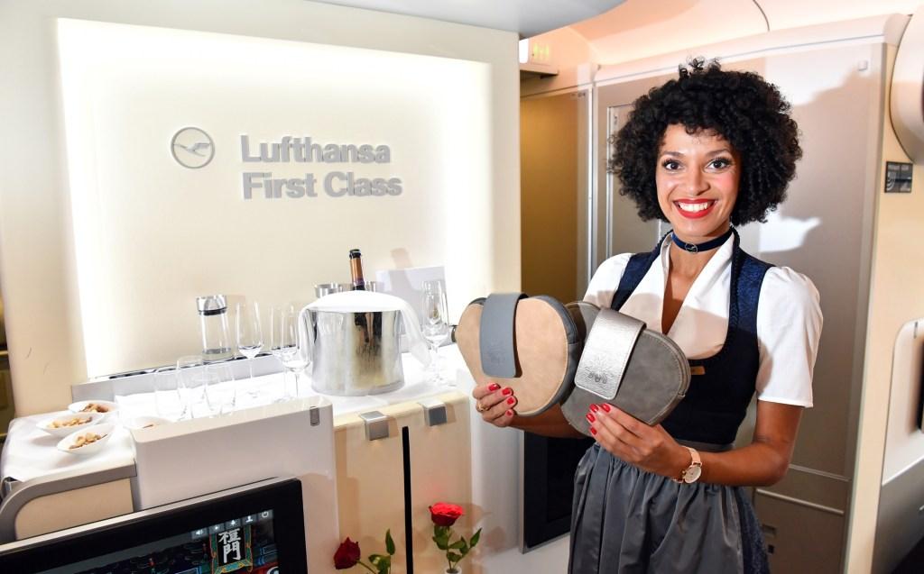The Lufthansa-Trachtencrew flight attendants will be bringing Oktoberfest on board specially themed flights. Photo Credit: Lufthansa