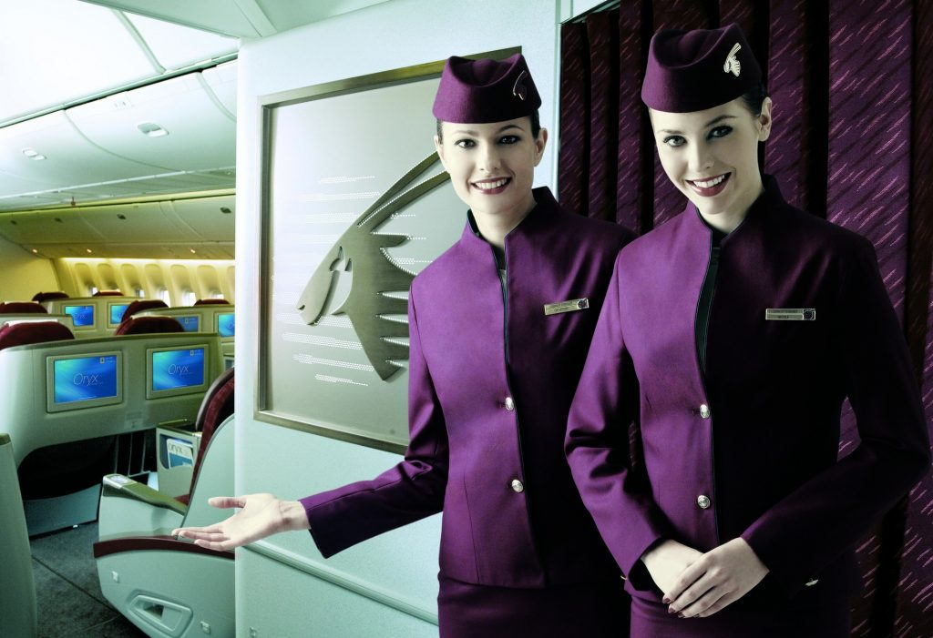 You'll have to pass stringent medical tests to comply with strict Qatari laws. Photo Credit: Qatar Airways
