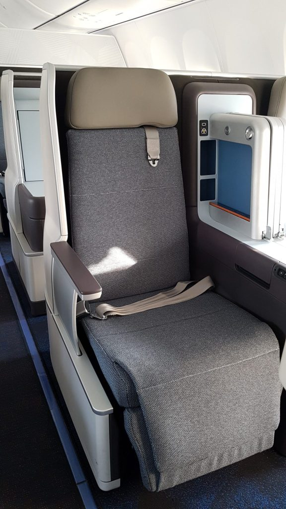 flydubai has customised the Thomson Vantage seat in collaboration with JPA Design. Photo Credit: flydubaiflydubai has customised the Thomson Vantage seat in collaboration with JPA Design. Photo Credit: flydubai