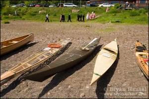 Skin on Frame kayaks at Lutsen Resort's 2007 Meet at the Beach