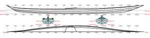Goodnow kayak linesplans.