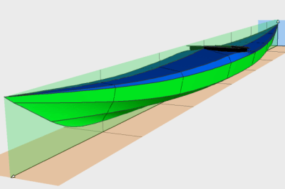 Siskiwit MC free kayak plans