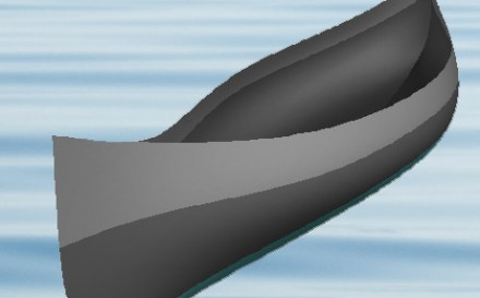 Free Passamaquoddy canoe plan