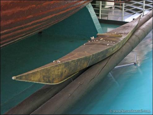 1888 Greenland kayak.