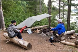 Typical BWCA campsite.