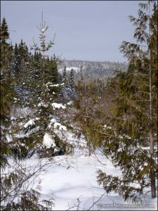 The first view of Eagle Mountain.