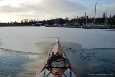 Kayak in Grand Marais, Minnesota.