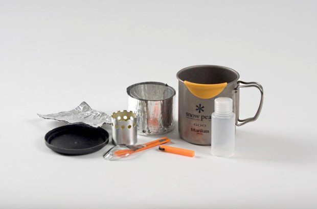 sub-5 ounce cook kit components