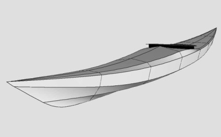 Siskiwit SOF free kayak plans rendering