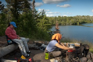 Boundary Waters campiste