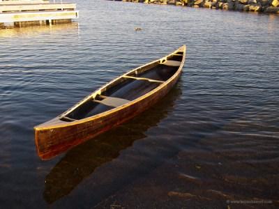 Ursa cedar strip canoe.