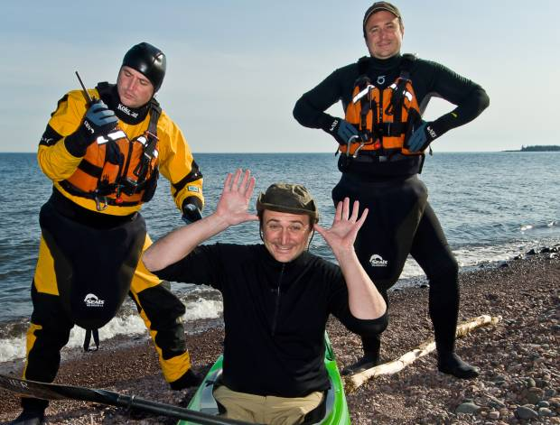 Wearing the right gear for the risks of cold water paddling.