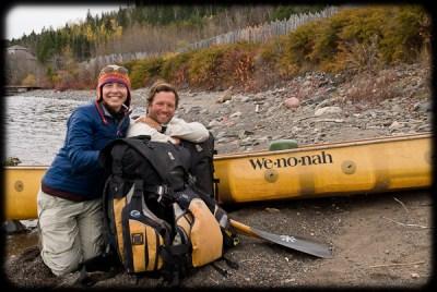 Dave and Amy at Lake Superior