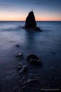 Lake Superior sea stack