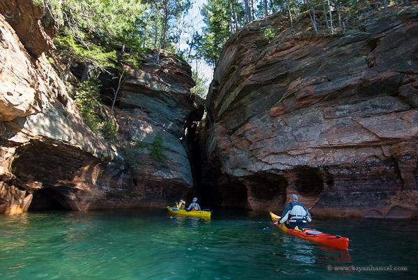 Kayaking the Apostle Islands