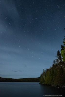 Stars on Kemo Lake