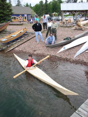 skin-on-frame kayak