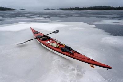 sea kayaking BWCA