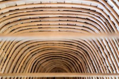 wooden canoe ribs