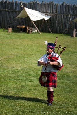 Grand Portage bag pipe