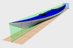 Siskiwit LV sea kayak plans