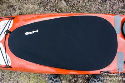 NRS neoprene cockpit cover on a kayak