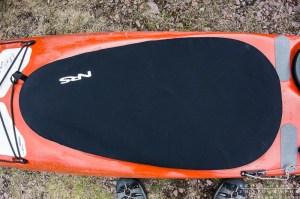 NRS neoprene cockpit cover on a kayak