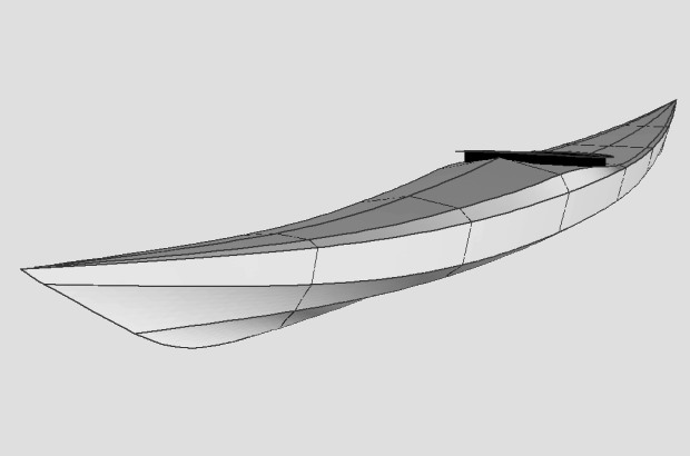 Siskiwit SOF Sea Kayak Plans • PaddlingLight.com
