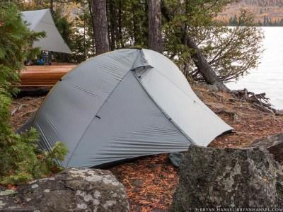 campsite in the BWCA