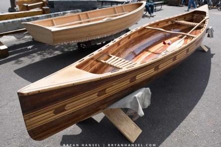 Another great cedar strip canoe