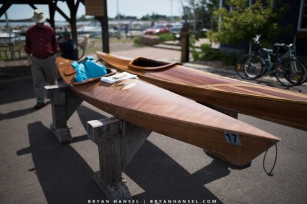Tortured plywood deck