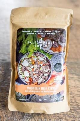 Paleo Meal to Go in packaging