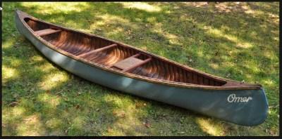 Omer Stringer's canoe