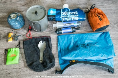 ultralight cooking kit