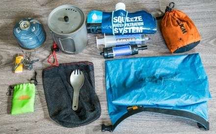 ultralight cooking kit