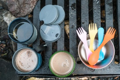 GSI Outdoors Infinity Backpackers Mug in action